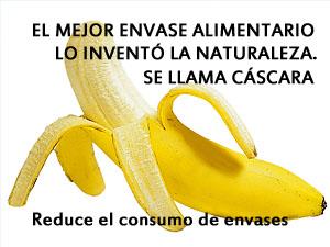 Reduce el consumo de envases de plástico, por tu salud y la del medio ambiente