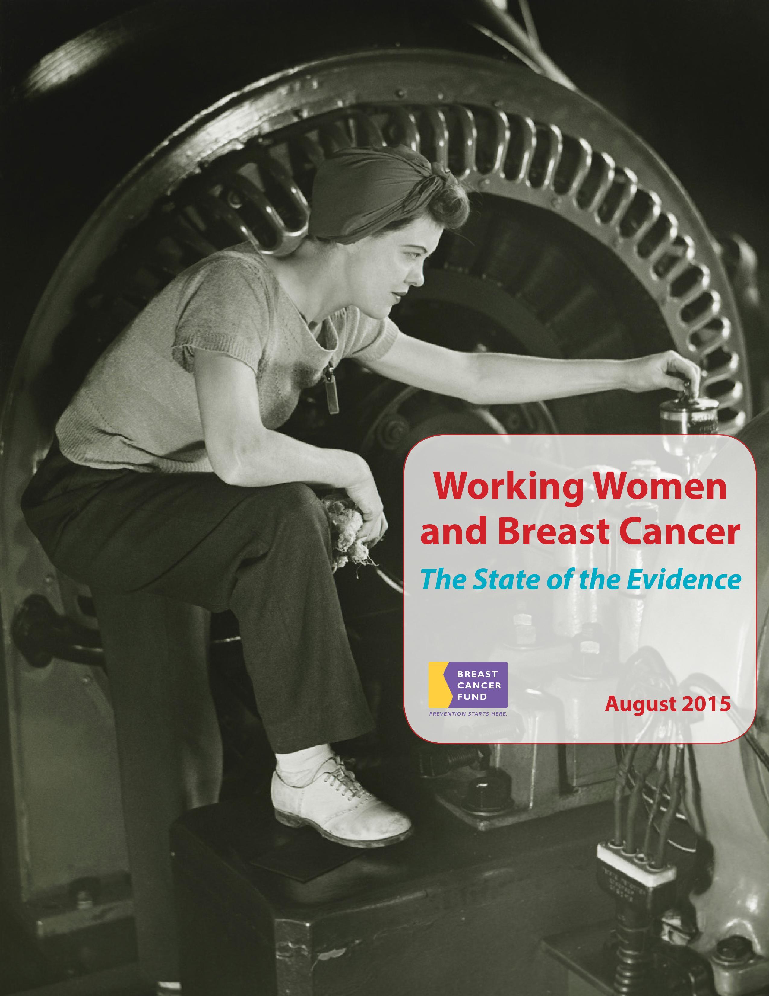 Mujeres trabajadoras y cáncer de mama