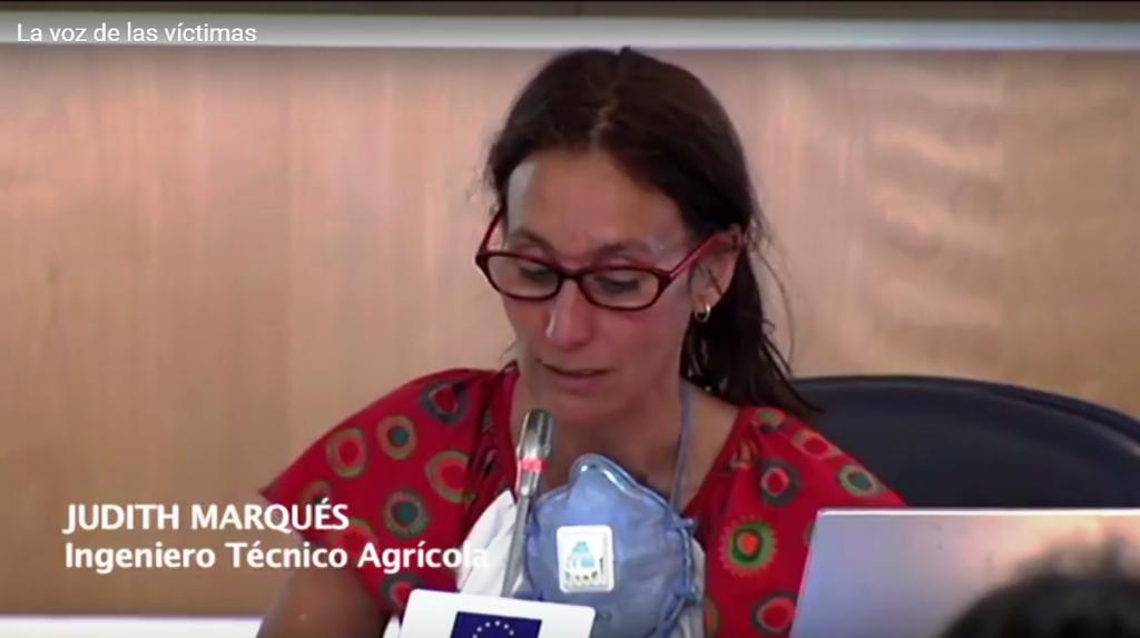 Judith Marqués pesticidas