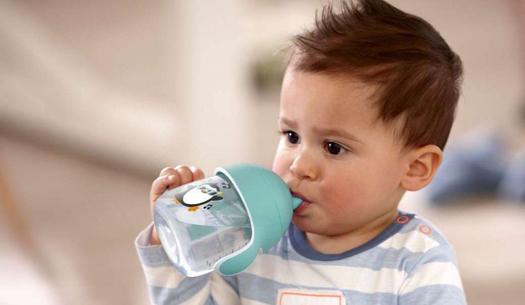 Bisfenol A en tazas entrenamiento bebés